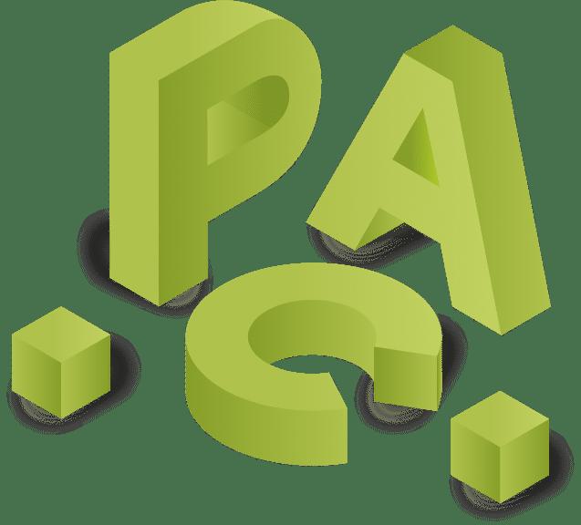 Logo PAC isometric